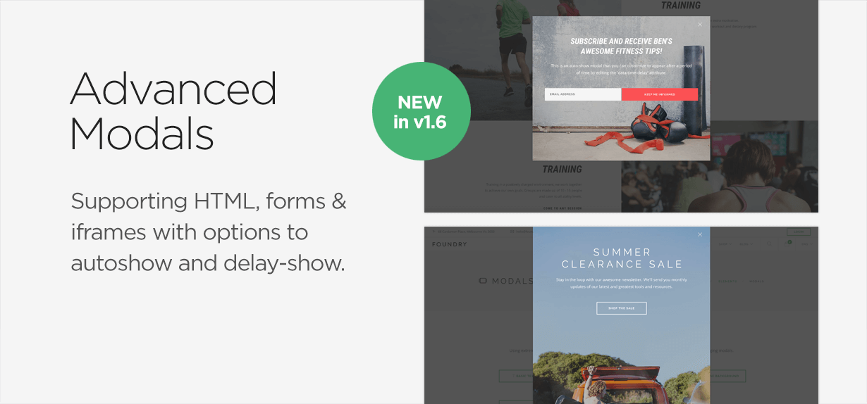Foundry - Multipurpose HTML + Variant Page Builder