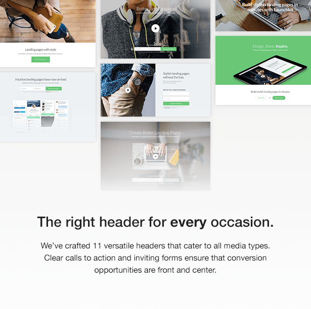 Launchkit Landing Page Marketing Joomla Template